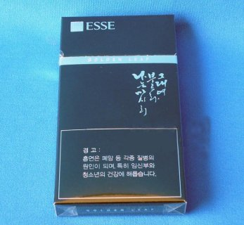 ESSE (Golden Leaf Duty Free Korean version) Korean cigarettes
